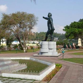 Marina park Netaji Subhash Chandra Bose