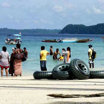 Andaman Ross Island & North Bay Island Sound and Light Show Tour 7 Days 6 Night