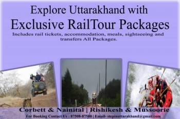 Exclusive Rail Tour Package of the Corbett