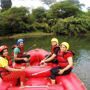 Kodagu White Water Rafting & Trekking Program Tour