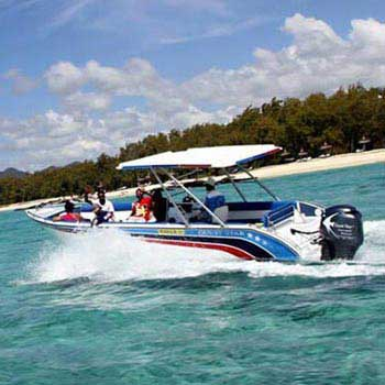 A Full Day At Ile Aux Cerf Island Speed Boat, Waterfall and Lunch On a Private Island Tour