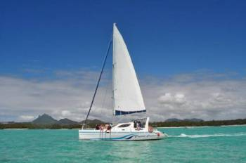 Memorable Catamaran Trip to Ile Aux Cerfs: Full Day Including Tube Riding, Lunch & Grse Tour