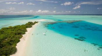 The Gorgeous Ile aux Cerfs: Speed boat, GRSE, Parasailing, Undersea Walk, Tube Riding