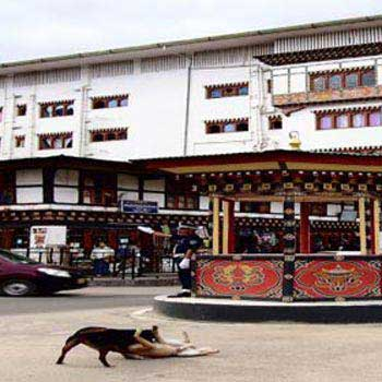 Thimphu main city