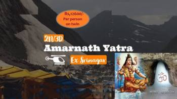 Amarnath Yatra By Helicopter 02 Nights / 03 Days Tour