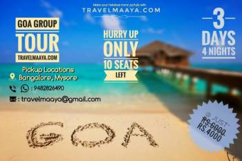 GOA GROUP TOUR