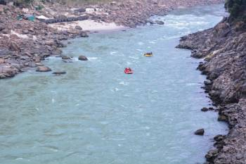 Wild Camp and Raft in Rishikesh Tour