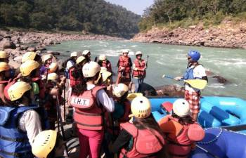 Rafting and Riverside Tent Camping Tour