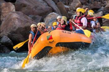 Deluxe Cottages + Rafting in Rishikesh Tour