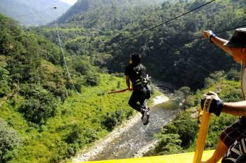 Flying Fox in Rishikesh Tour