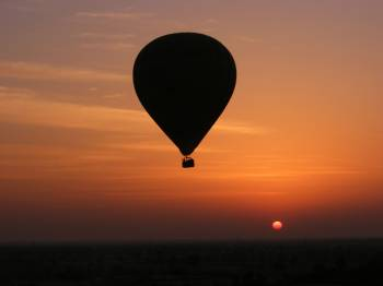 Hot Air Ballooning in Ranthambore