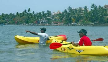 Kayaking in Goa Tour