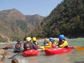 Beginners Kayaking Course in Rishikesh