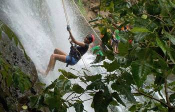 Waterfall Rappelling At Dodhani Package