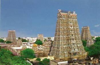 Chennai-mahabalipuram-pondicherry-tanjore-trichy-rameswaram-kanyakumari-suchindram-madurai-chennai T