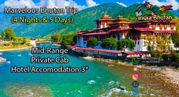 Marvelous Bhutan Trip (4 Nights & 5 Days)