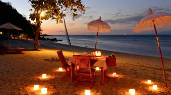 Honeymoon Romance in Maldives