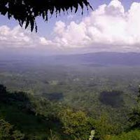 View of Jampui Hill Range
