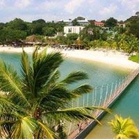 Bali Singapore Honeymoon Package from Delhi