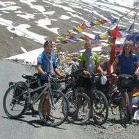 Leh-Manali Montain Biking Tour( Ibex ladakh - Modearte/Easy)