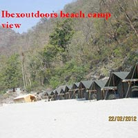 Beach camp marine drive full view