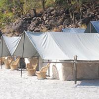 1Night Beach Camping with 16km/26km/36km Rafting Rishikesh Rafting Tour