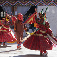 Jambay Lhakhang Drup Tour