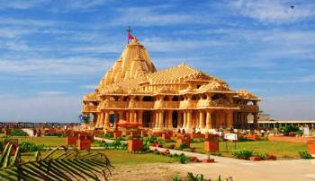 Dwarka - Somnath - Gir - Unity of Statue, 7 Night's 8 Day's