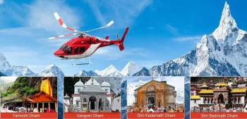 Char Dham Yatra By Heli, 5 Night's 6 Day's