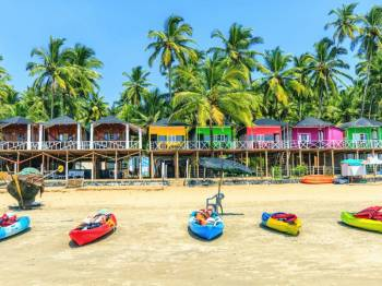 2 Nights Goa Holiday Tour - Honeymoon With Air Fare
