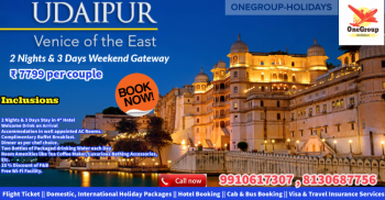 Udaipur Weekend Gateway 2 Nights & 3 Days