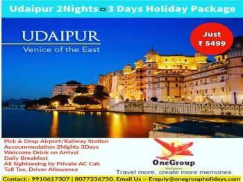 Weekend Gateway Udaipur 2Nights 3Days Package