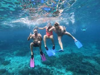 One Day Best Spot Snorkeling in Nusa Penida Island Tour