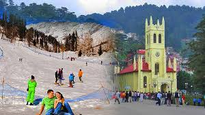 Shimla Manali (6 Nights & 7 Days) Chandigarh Shimla(2n), Manali  (3 N) Tour