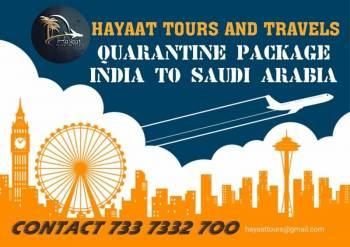 Quarantine Package India to Saudi Arabia