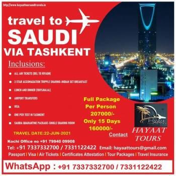 Travel Saudia Arabia Via Tashkent