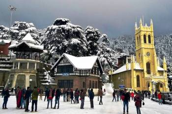 05 Night 06 Days Shimla Manali Volvo Tour Package