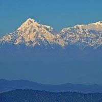 Snow View From Nainital