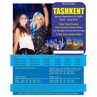 Tashkent Dziner Holidays Tour Package
