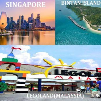 Singapore, Malaysia & Indonesia 03 Country Combo Package 06Night/07Days