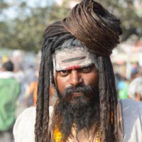 sadhus from temple city