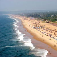 A view of Calangute