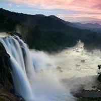 Athirapilli Water Falls