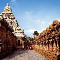 1 Day Kancheepuram - Mamallapuram Tour(Round Trip)