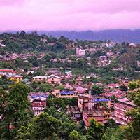 Glimpse Of Eastern Himalaya