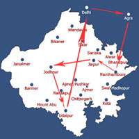 Delhi - Agra - Rajasthan Tour