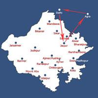 Delhi - Jaipur - Agra Tour by Train