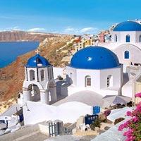 Athens - Santorini - Athens Tour