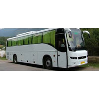 Volvo bus tour