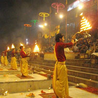Varanasi Ganga Ghat Aart